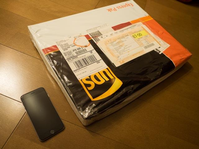 UPSの包装